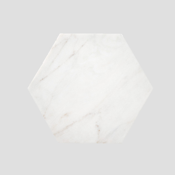 Hexagon Marble tray   Att Pynta