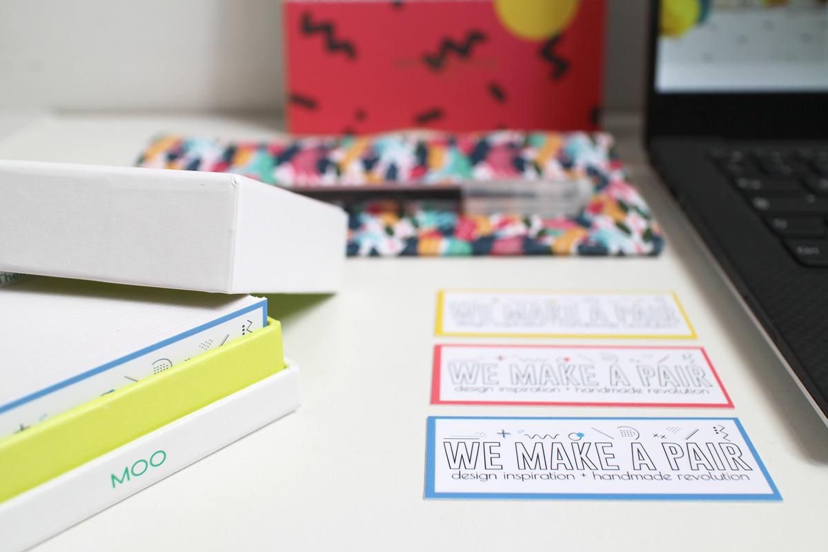 I biglietti da visita di design moo: minicards (dettaglio)