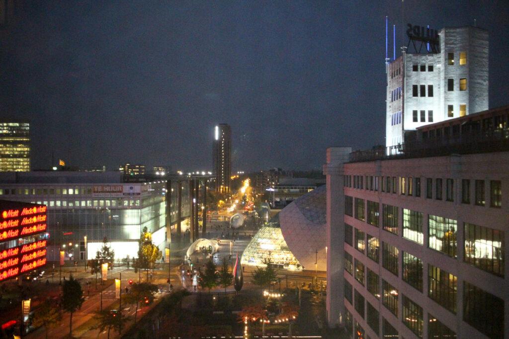Inntel Art Hotel Eindhoven: la vista dalla mia stanza