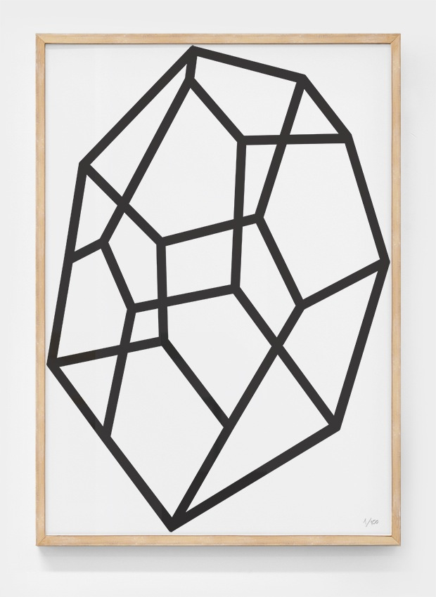 Editions of 100: Quartz poster by Daniel Freytag
