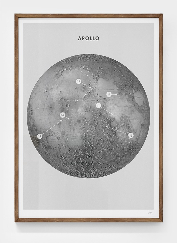 Editions of 100: Apollo poster by Daniel Freytag