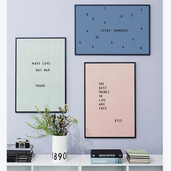 Le Message Board di Design Letters