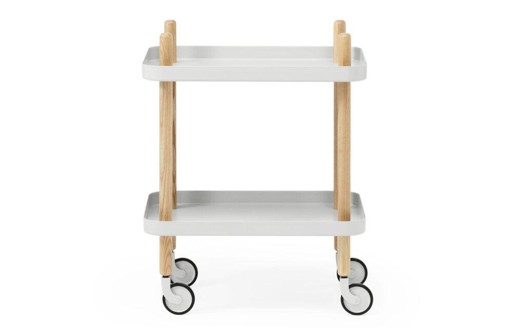 Il Block Table grigio chiaro di Normann Copenhagen
